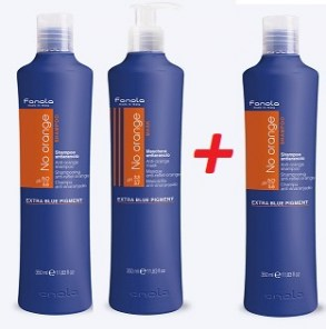 Fanola no orange šampon 350ml + maska 350ml + zdarma šampon 350ml